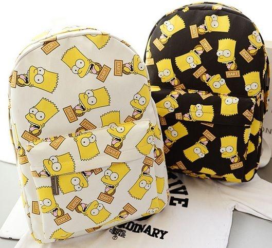 Mochila Bart Simpsons