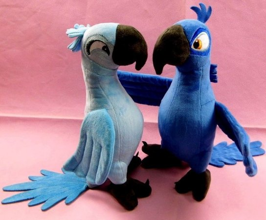 Araras-Azuis Blu e Jade - Rio 2