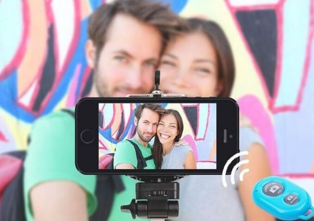Bastão Universal Selfie Android iOS Iphone