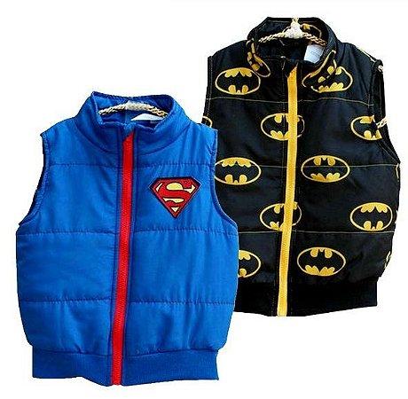 Colete Super Homem e Batman