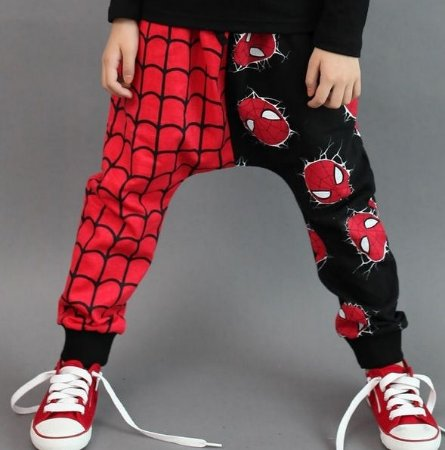 Calça Moletom Homem Aranha