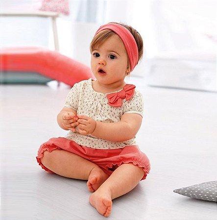 Conjunto Infantil Rosinha