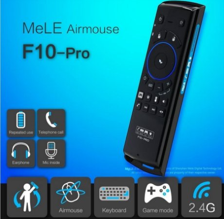 MeLE F10 Pro Air Mouse Wi Fi + Teclado + Controle Remoto
