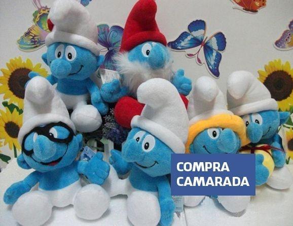 Pelúcia Smurfs