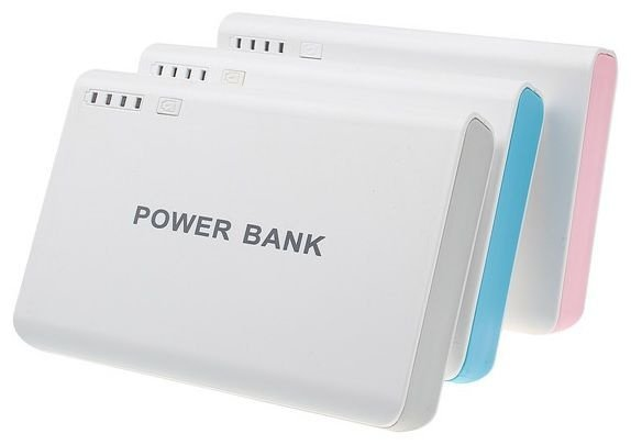 Carregador Smartphone Bateria Portátil 12000 mah