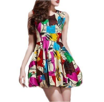 Vestido Abstract