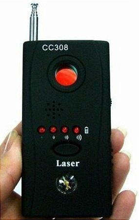 Detector de câmeras e sinais Gps Wifi Rf Gsm Cc308+