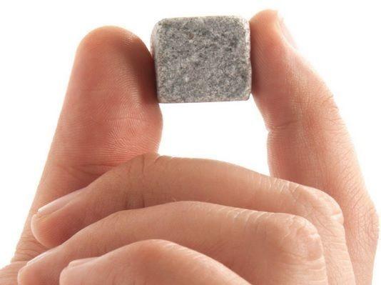 Cubos De Gelo Em Pedra