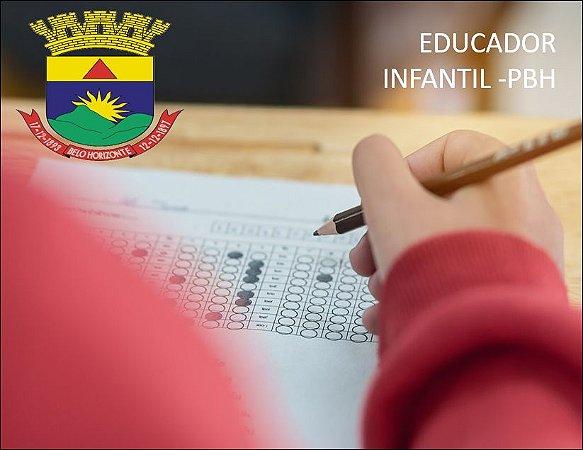 CURSO PREPARATÓRIO PARA CONCURSO SMED/PBH 2018 - PROFESSOR PARA A EDUCAÇÃO INFANTIL