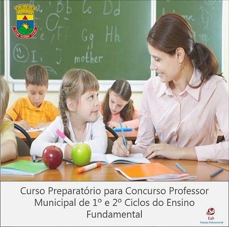 CURSO PREPARATÓRIO PARA CONCURSO PARA PROFESSOR  DO ENSINO FUNDAMENTAL - BH