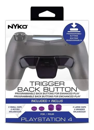 Trigger Back Button Paddle Nyko PS4