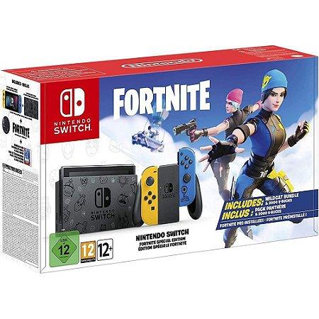 Nintendo Switch 32GB Fortnite Edition - (Sem Código)