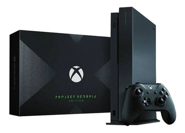 Xbox One X Project Scorpio 1TB Semi Novo