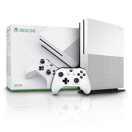 Xbox One S 500GB Semi Novo
