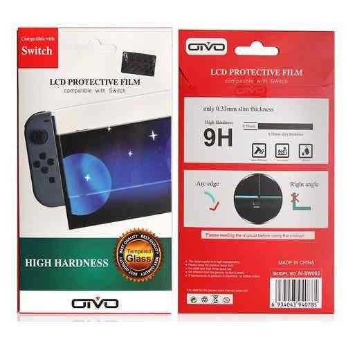 Pelicula De vidro Temperado - Nintendo Switch