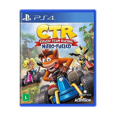 Jogo Crash Team Racing Nitro-Fueled - PS4