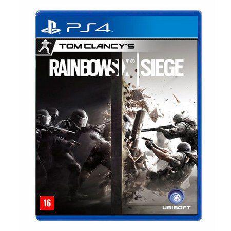 Jogo Tom Clancys: Rainbow Six Siege - PS4