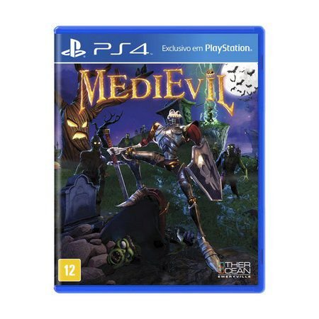 Jogo Medievil PS4