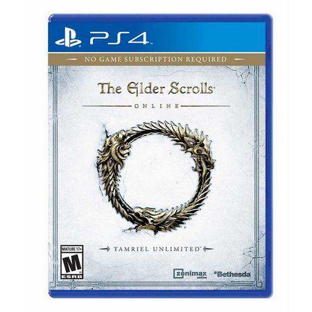 Jogo The Elder Scrolls Online: Tamriel Unlimited - PS4