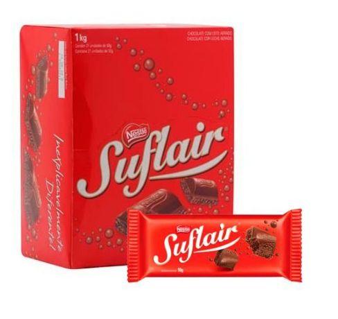 Chocolate Suflair 20X50 gr Nestlé