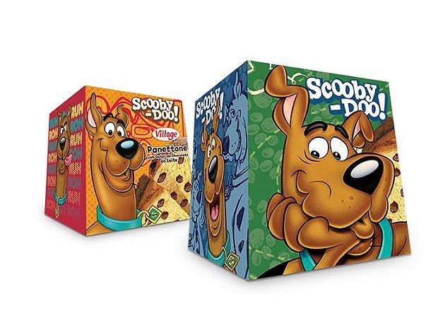 Mini Panetone com Gotas de Chocolate Scooby Doo Village 80 GRS