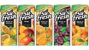 Suco Su Fresh Varios Sabores 200ml