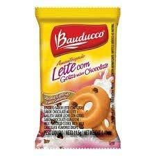 Biscoito Sachê Bauducco Amanteigado Leite com Gotas de Chocolate 400 sachês