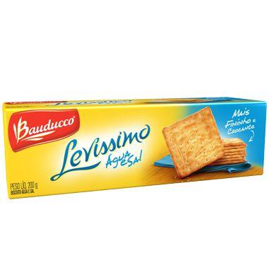 Biscoito Água e Sal Bauducco 200 grs