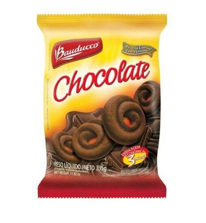 Amanteigado Chocolate Bauducco 335 grs