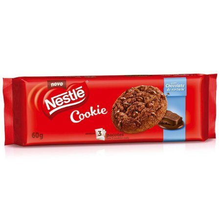 Cookies Classic Nestlé 3x20Gramas