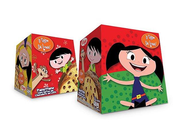 Mini Panettone com gotas de Chocolate Show da Luna Village 80 grs