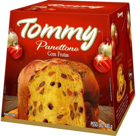 PANETTONE TOMMY 400 GRS