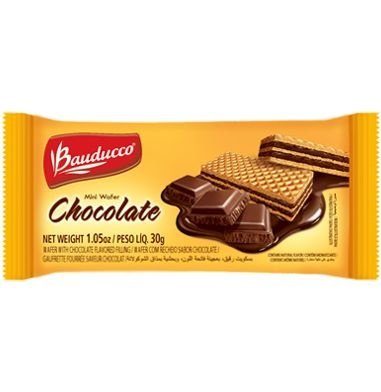MINI WAFER BAUDUCCO CHOCOLATE 96X30GRS