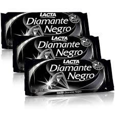 Chocolate Diamante Negro Lacta 20X25grs.