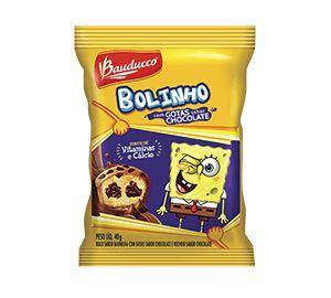 BOLINHO GOTAS DE CHOCOLATE BAUDUCCO 14X40GRS