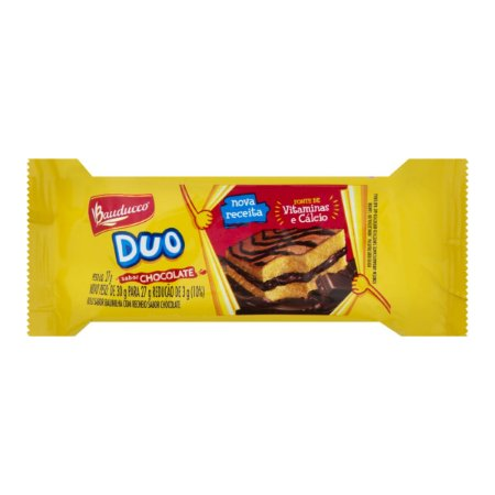 Bolinho Duo Chocolate Bauducco 90X27grs.