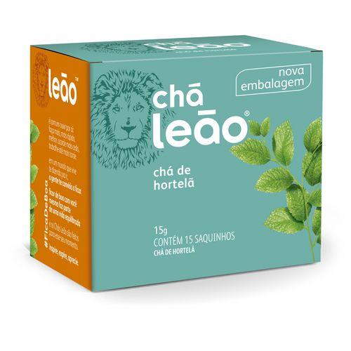 Chá Leão Hortelã com 15 sachês