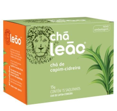 Chá Leão Capim-cidreira com 15 sachês