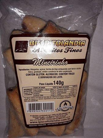 Biscoito Mineirinho Biscoitolandia 140g