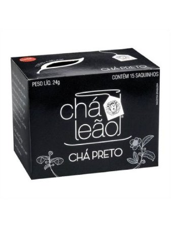 Chá Leão Preto com 15 sachês