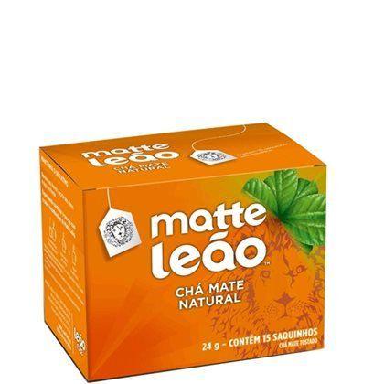 Chá Leão Mate com 15 sachês