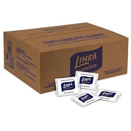 Adoçante Sucralose Sachê Linea - Caixa com 500 unidades