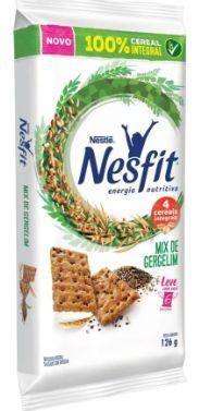 Biscoito Nesfit Mix de Gergelim de Bolso 6X21grs.