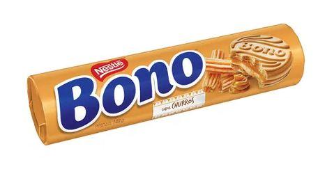 Biscoito Bono Recheado Churros 126grs