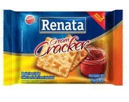 Biscoito Sachê Renata Cream cracker.