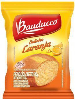 Bolinho Laranja Bauducco 14x30 grs