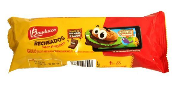 Recheados Chocolate Bauducco 30x65g