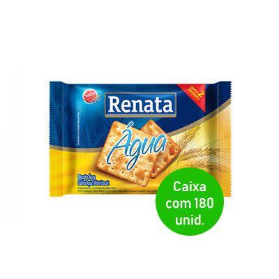 Biscoito Agua Renata Caixa com 180 sachês.