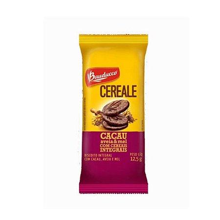 Biscoito sachê Bauducco Cereale Cacau.