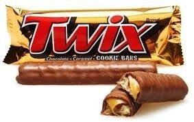 Chocolate Twix 30X15grs.